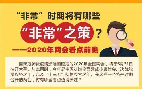 2020年两会召开时间及全国两会主要内容热点前瞻