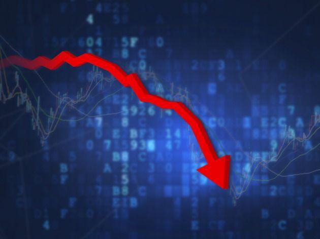 地产板块今日早盘下挫,万业企业股价大跌超过5%